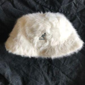 Kangol angora skull cap